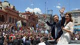 Letette a hivatali esküt Argentína új államfője