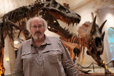 Paleontologist Jack Horner at the Natural History Museum in Los Angeles in 2015.
