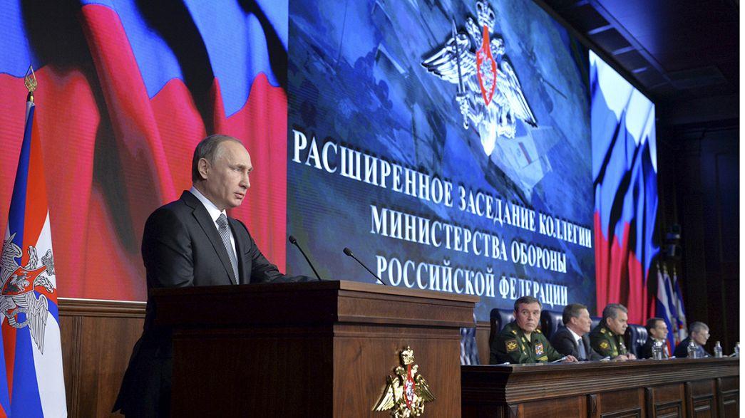 Putin orders tough action on Syria threats