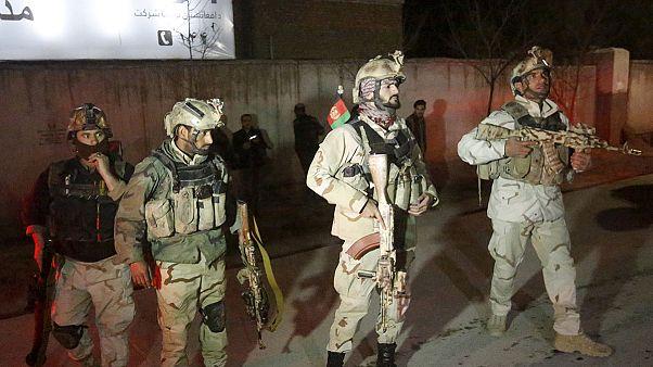 Tálib támadás a kabuli diplomatanegyedben
