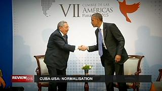سال ۲۰۱۵، سال گفتگو، دموکراسی، عادی سازی روابط و فاجعه
