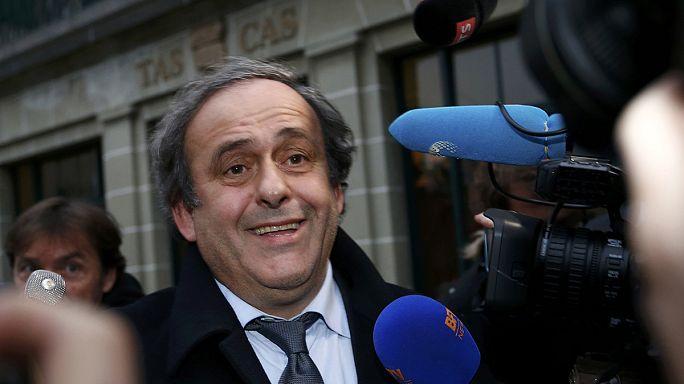 Hatályban marad, de nem hosszabbítható meg Platini eltiltása