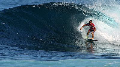 The 2015 Billabong Pipe Masters in Hawaii