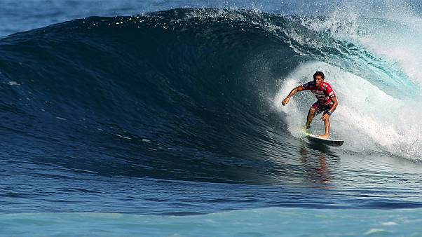 World Surf League - Top Score für C.J. Hobgood