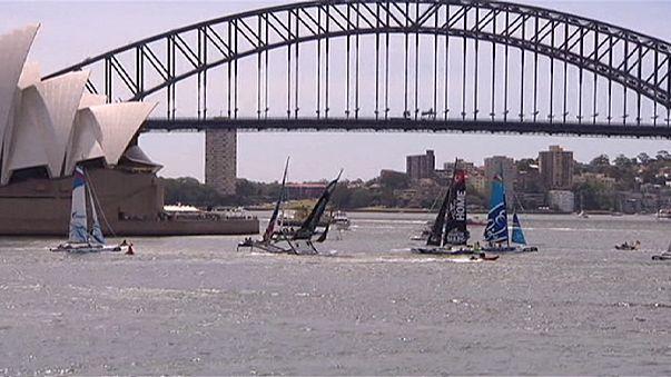 Vela: che spavento per Lino Sonego alla Sydney Harbour!