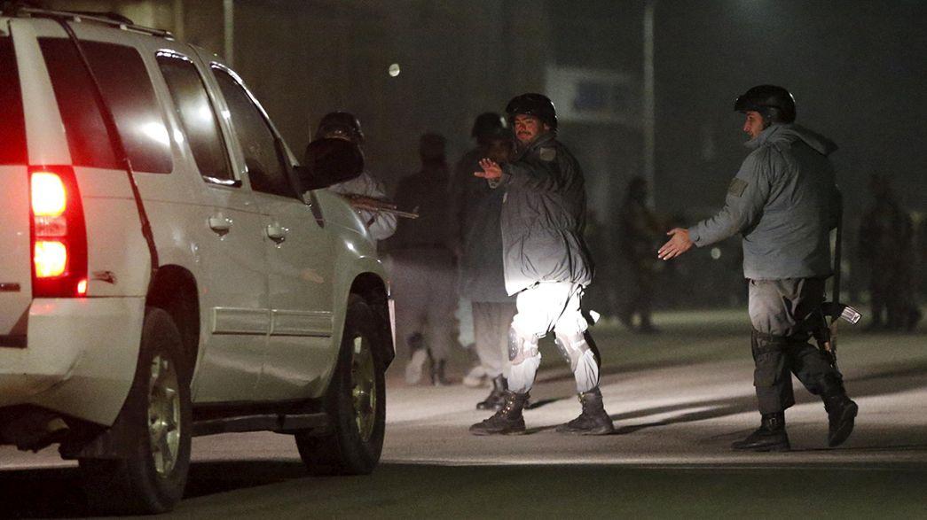 قتلى وجرحى في هجوم لطالبان استهدف دار ضيافة للأجانب في كابول