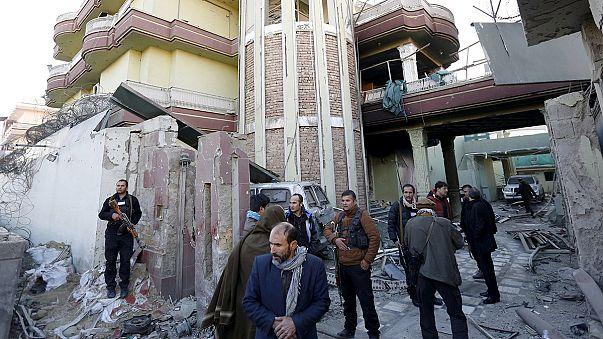 Afghanistan : fin de l'attaque, 4 policiers afghans et un Espagnol morts