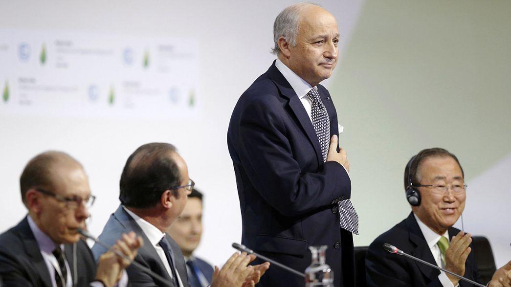 COP21: raggiunto l'accordo per ridurre l'aumento delle temperature a 1,5 gradi