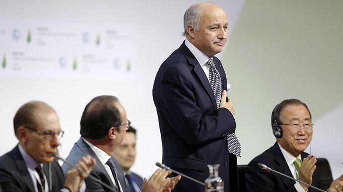 COP21 : le projet d'accord est sur la table, il n'a plus qu'à être approuvé