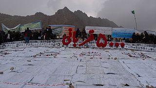 اعتراض بازمانده های قربانیان به قانون عفو جنایتکاران جنگی در افغانستان
