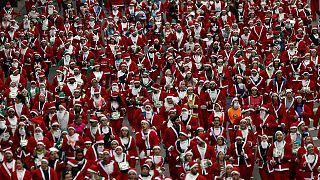 Cours, Père Noël, cours