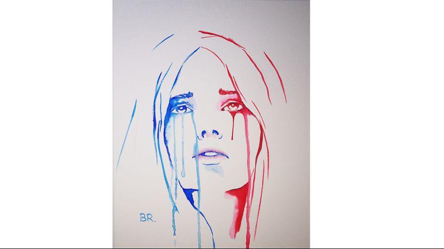La Marianne en pleurs du 13 novembre : rencontre avec son auteur lyonnais