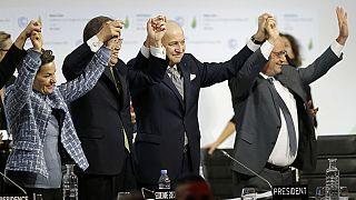 پایان نشست پاریس: جهان به توافق اقلیمی تاریخی دست یافت