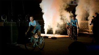 Παρουσιάστηκε επίσημα η ποδηλατική ομάδα Αστάνα από το Καζακστάν