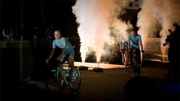 El Astana se presenta con sus mejores galas