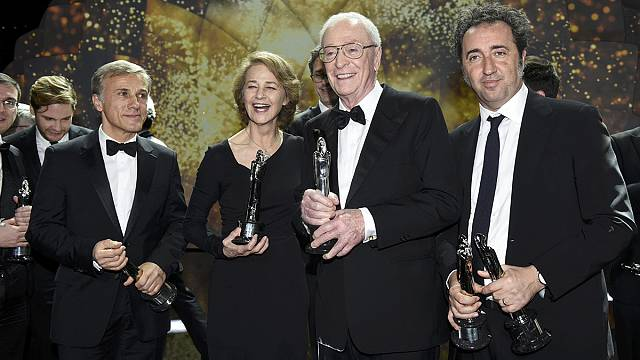 'Youth' scoops three gongs at European Film Awards in Berlin