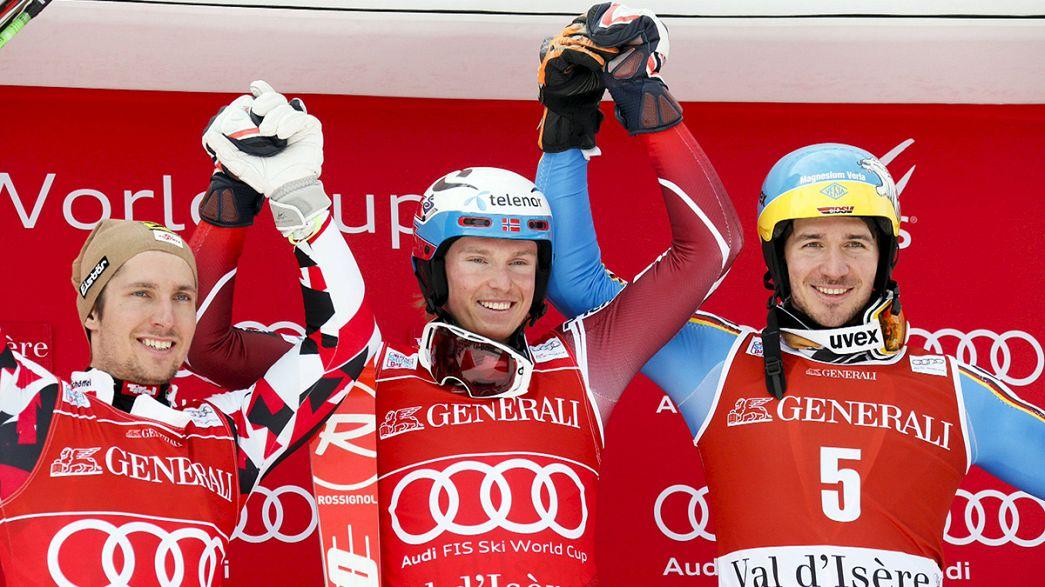 Esqui alpino: Kristoffersen quebra hegemonia de Hirscher em Val d'Isère