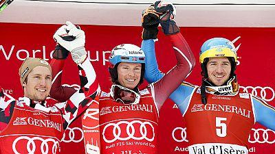 Marcel Hirscher se afianza como líder en la Copa del Mundo de esquí alpino
