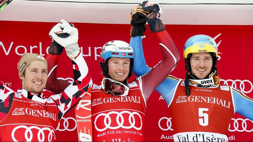 Neureuther auch im Slalom auf dem Podest - Kristoffersen gewinnt in Val d'Isère
