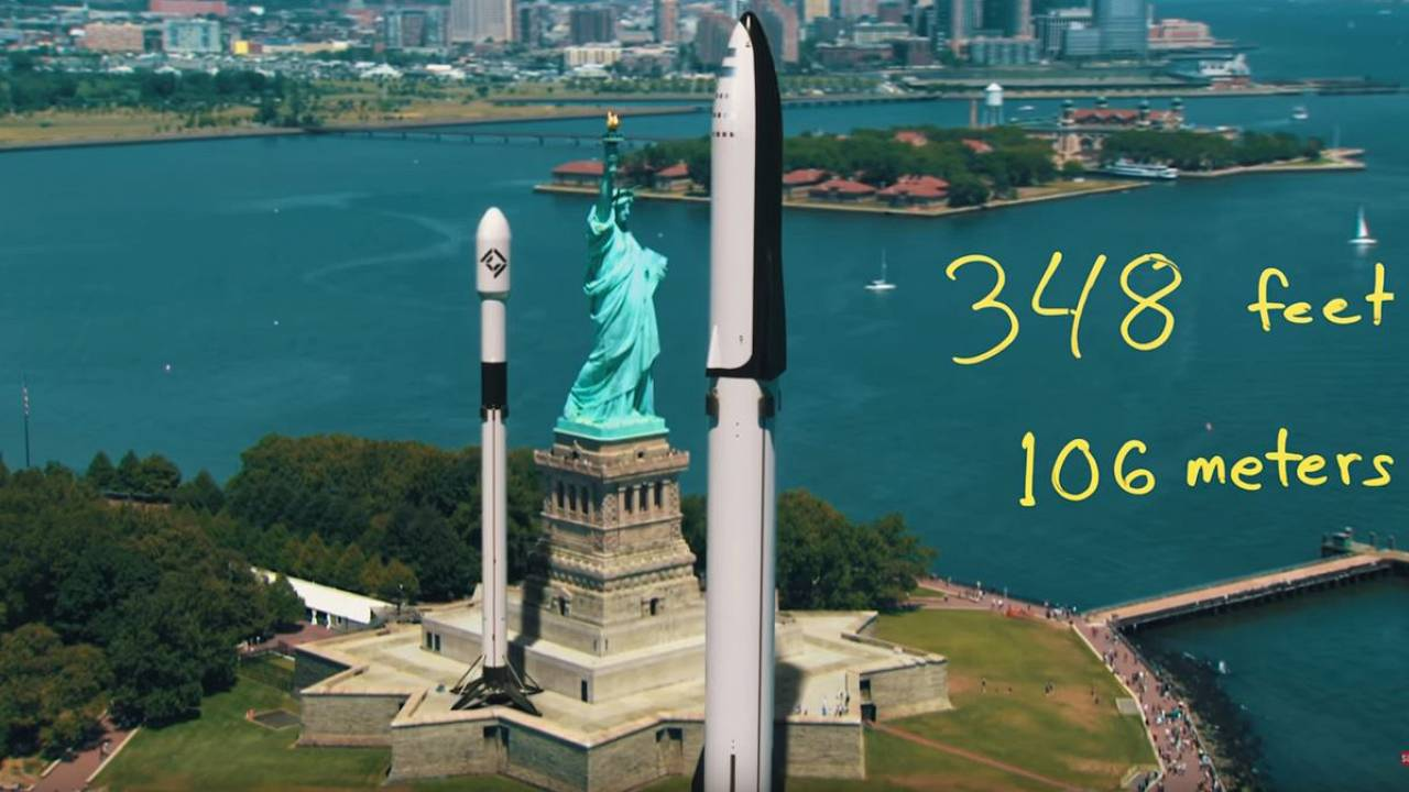 SpaceX rockets are way bigger than you thought