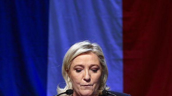 Defeat for Marine Le Pen - exit polls
