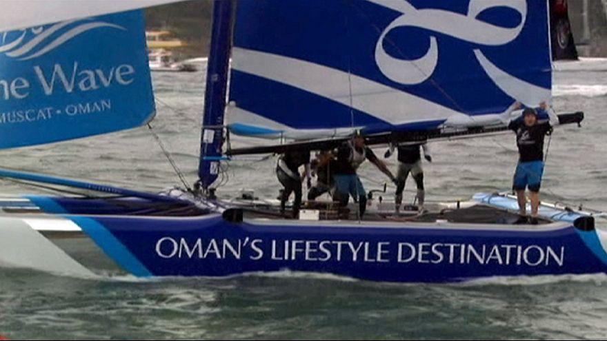 Leigh McMillan hace historia en el Extreme Sailing Series