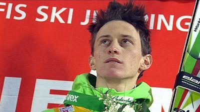 Peter Prevc aux commandes de la coupe du monde de saut à ski