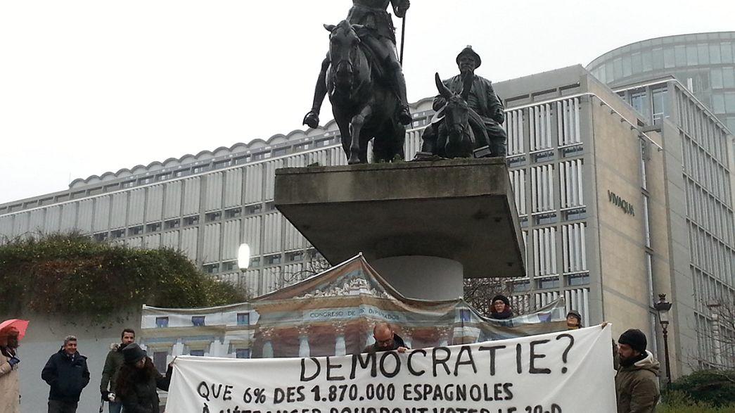 Españoles en el extranjero piden la derogación del voto rogado