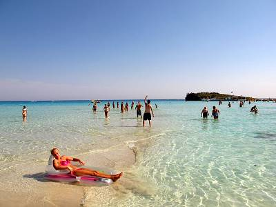 Ayia Napa is a popular destination for tourists.