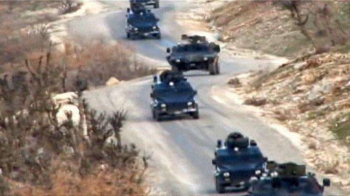 Türk askerlerinin bir kısmı Başika'dan ayrıldı