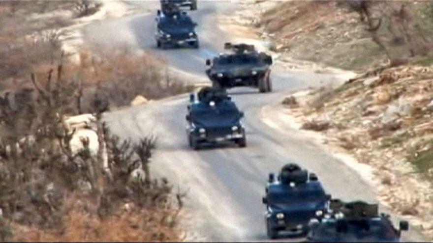نیروهای نظامی ترکیه ناحیه اطراف موصل را به سمت شمال ترک کردند