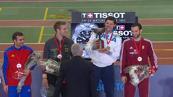 الإيطالي مونتانو و الصينية شين يين يفوزان بالبطولة العالمية للمبارزة بالسيوف في بوسطن