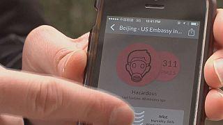 Chineses procuram tecnologias para medir a qualidade do ar em tempo real