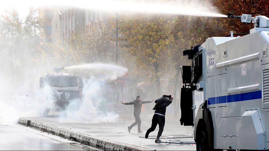 دیاربکر در ترکیه ناآرام شد