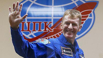 Tim Peake ist der erste Brite an Bord der ISS
