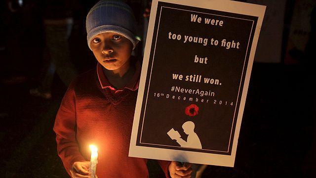 Pakistan ordusundan kanlı okul baskının yıldönümüne özel video klip