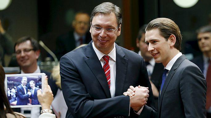 Sırbistan AB ile ilk fasılı açtı