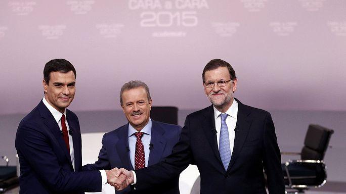 Rajoy y Sánchez se enzarzan en un debate bronco con pocas propuestas de futuro