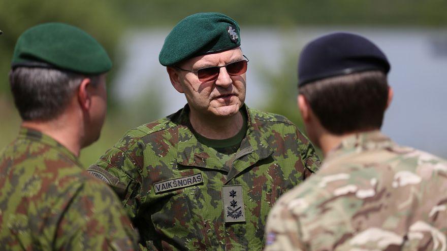 Image: Maj.-Gen. Vitalijus Vaiksinoras