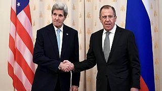 Джон Керри в Москве встречается с Сергеем Лавровым и Владимиром Путиным
