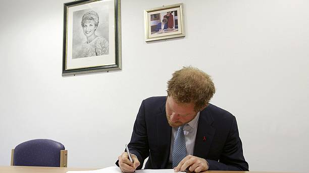 Prince Harry visits HIV hospital