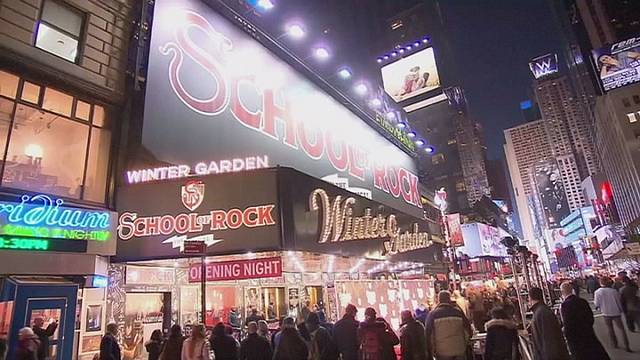 "El musical ""School of Rock"" llega a Broadway"