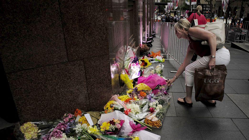 Australia recuerda a las víctimas de la toma de rehenes del café Lindt