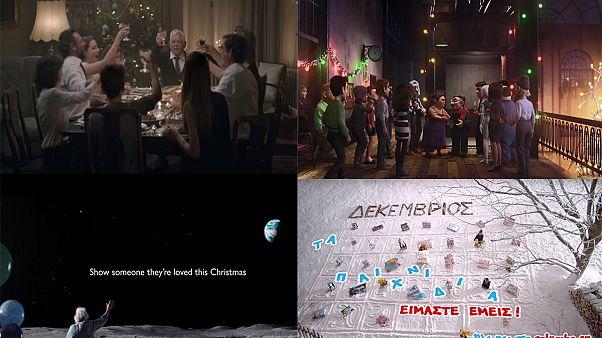 Ένας διαφορετικός γύρος του κόσμου με... χριστουγεννιάτικες διαφημίσεις