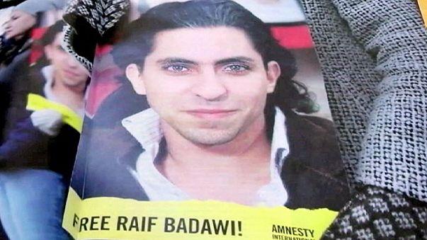 """Premio Sakharov consegnato alla moglie di Raif Badawi:""""Spero che Riad ascolti le richieste di scarcerazione"""""""