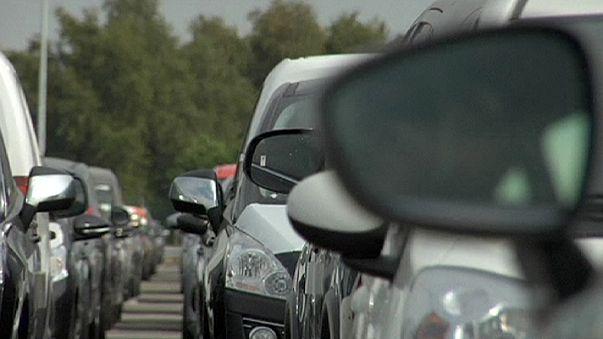 Европейские продажи машин растут все быстрее
