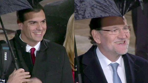İspanya'da liderler seçim öncesi kozlarını canlı yayında paylaştı