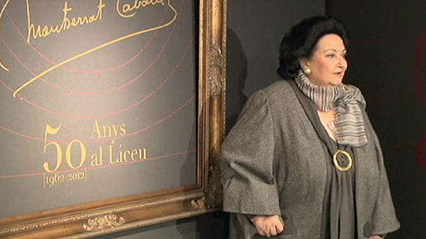مغنية الاوبرا الاسبانية الكبيرة مونتسيرات كاباي لن تدخل السجن...