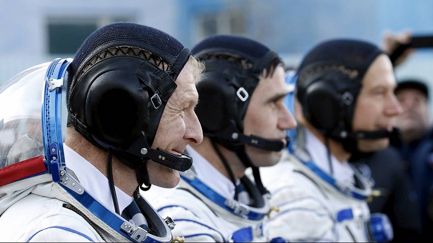 UUİ'de ilk İngiliz astronot göreve başladı