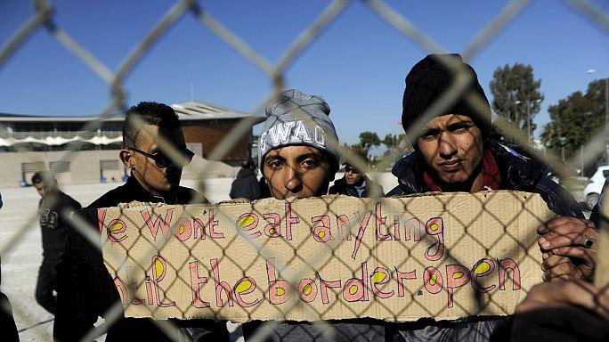 وصول أول عائلة عراقية لاجئة إلى ليتوانيا